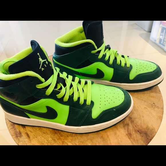 1 Retro Electric Jordan Nike Air Guc Gorge Green jLRq543A